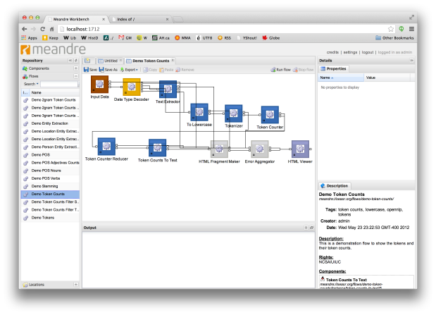 Demo Token Counts Flow Example