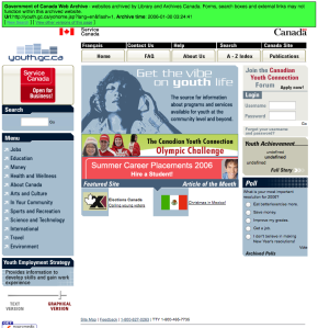 January 30th, 2006 from the Government of Canada Web Archive.