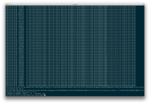 Using s3cmd to download a plain text portion of the most recent CommonCrawl.