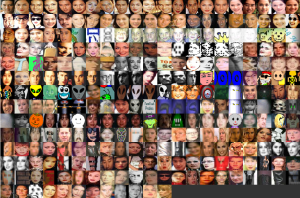 Some faces from the FashionAvenue neighbourhood of GeoCities.