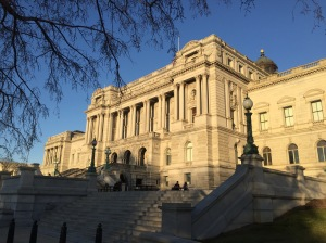 A photo of the Library of Congress (taken by yours truly last week)